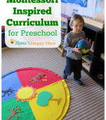 Montessori Inspired Curriculum for Preschool