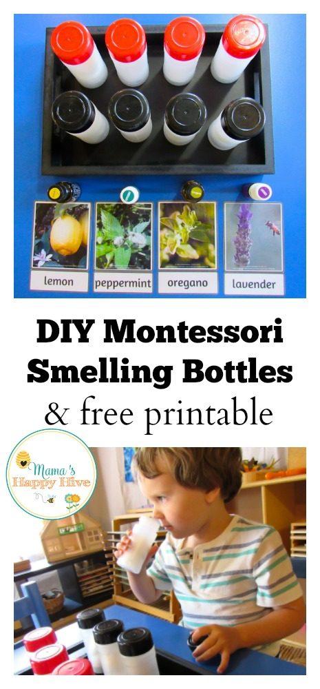 Diy Montessori Smelling Bottles And Free Printable Mama