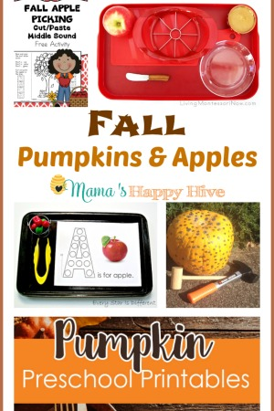 Fall Pumpkins and Apples