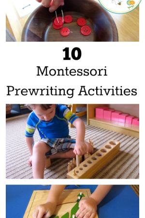 10 Montessori Prewriting Activities