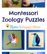 Montessori Zoology Puzzles