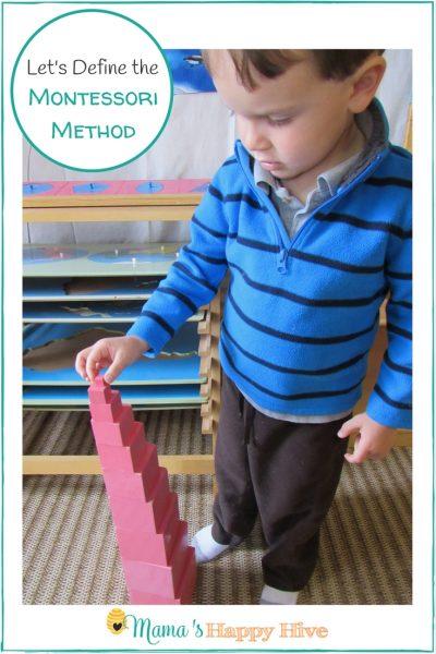 Let's Define the Montessori Method