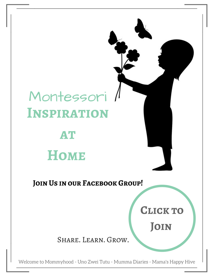 Our Montessori Inspired Homeschool Plan for Preschool (2.5-4 years)