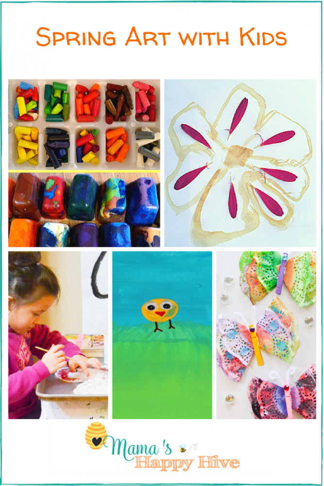 Spring Art with Kids