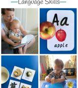 Montessori Toddler Language Skills