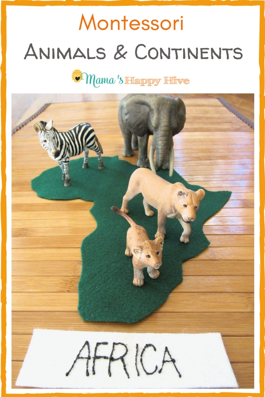 Montessori Animals and Continents