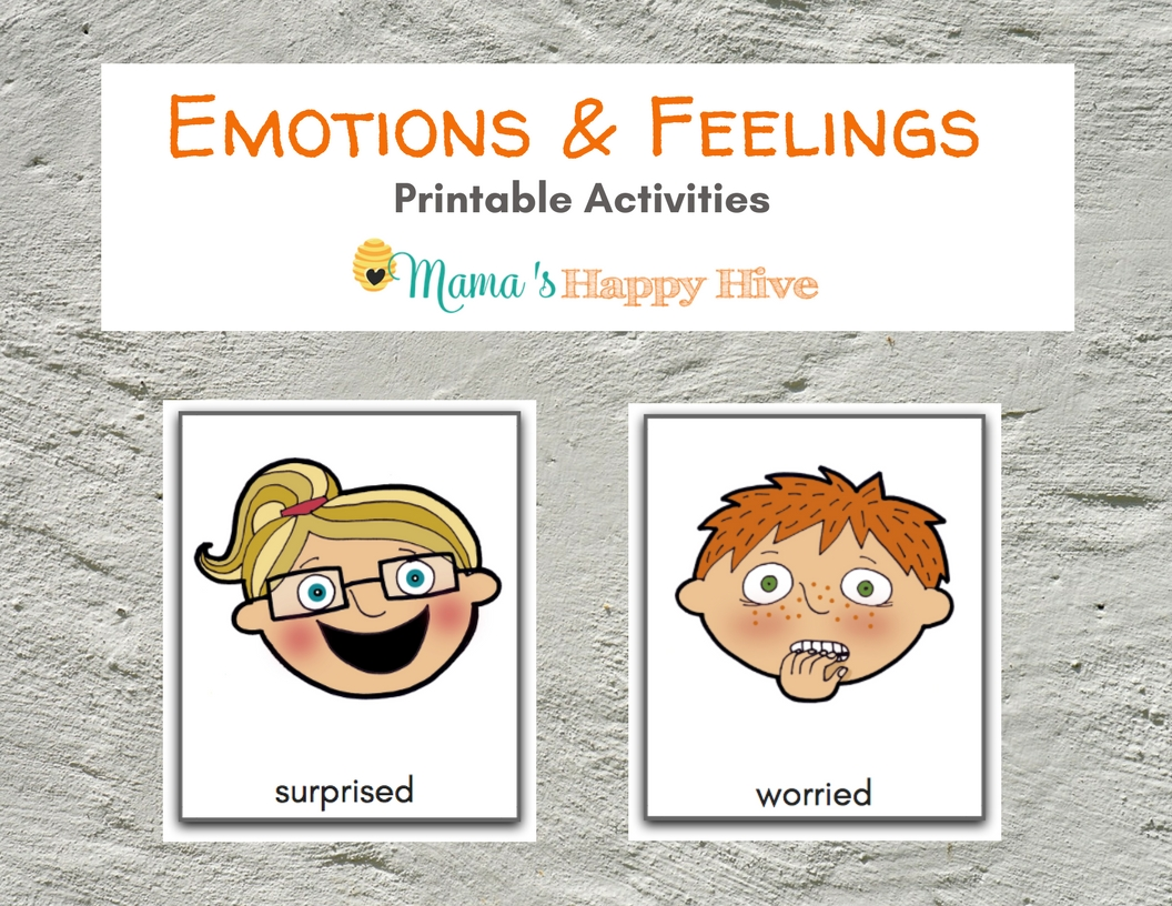 Emotions and Feelings Activity Printable