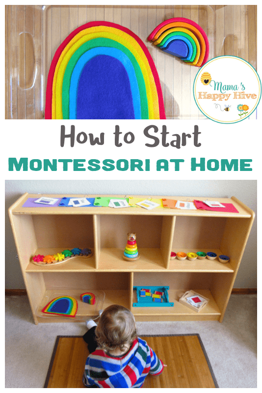In this post, I will share with you some basic (but very important) tips on how to start your very own Montessori at home following 8 easy steps. www.mamashappyhive.com