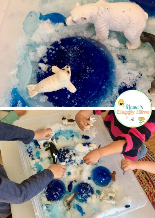 Arctic Activities and Sensory Play